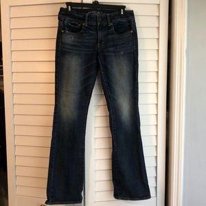 American Eagle boot leg jeans
